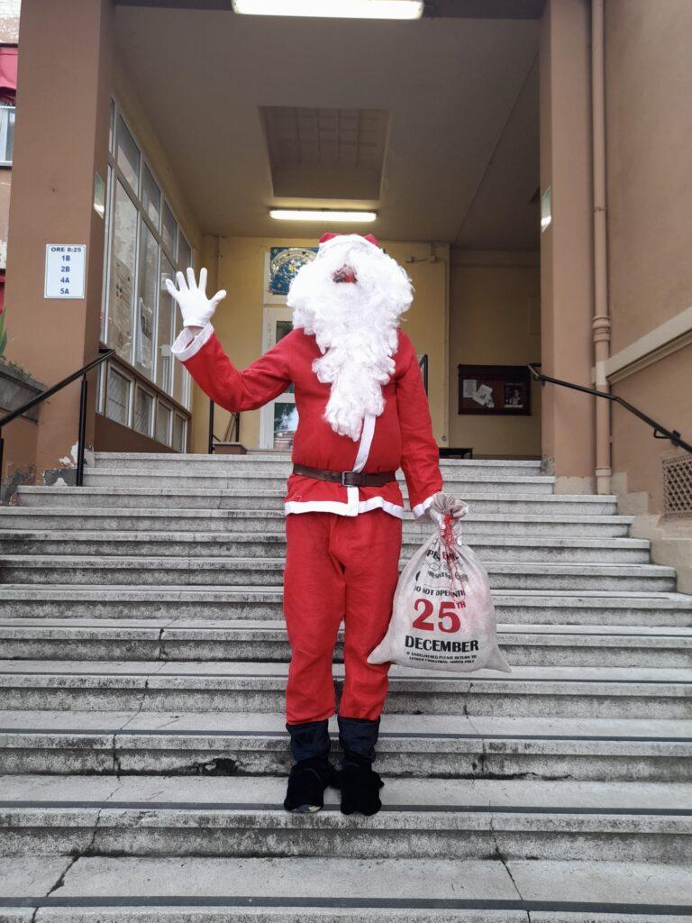 Babbo Natale alle scuole Tambroni